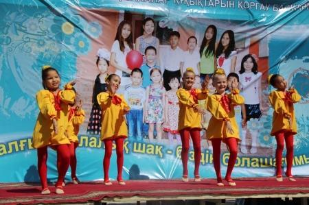 В Актау отметили День детства