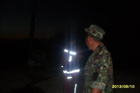 В поселке Баскудук два дня горела мусорная свалка