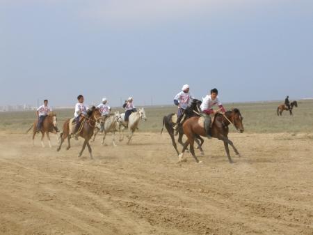 В Бейнеу прошли соревнования по конным видам спорта