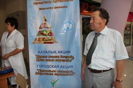 Студенты медицинского колледжа осматривали жителей Актау