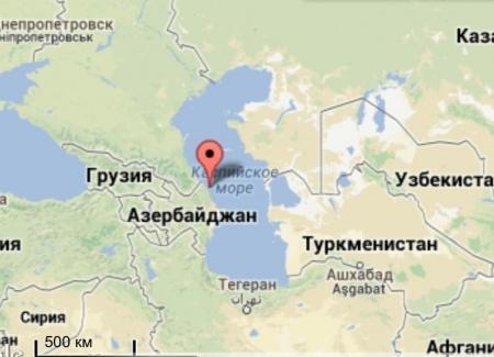 В Каспийском море произошло второе за сутки землетрясение