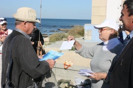 В Актау прошли соревнования по рыбной ловле среди местных жителей