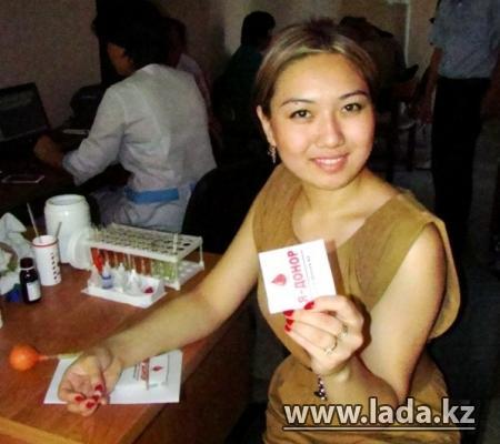 В Актау пройдет донорская акция по сдаче крови