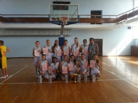 Актауские баскетболистки завоевали титул чемпионов Казахстана