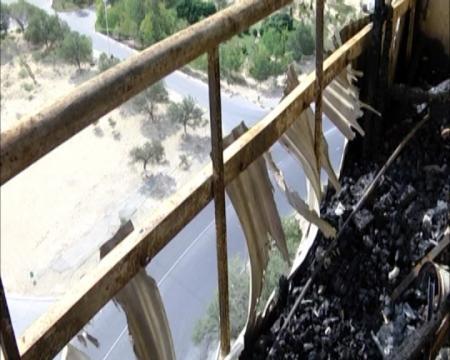 Пострадавшие от пожара жильцы 7 дома 4 микрорайона  до сих пор живут на пепелище без воды, света и газа