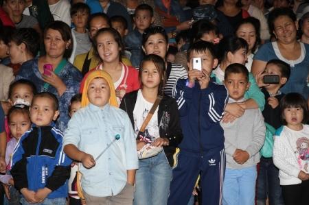 В Актау состоялся концерт с участием  звезд казахстанской эстрады