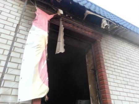 В Актау сегодня утром произошло возгорание в магазине «Лидер»