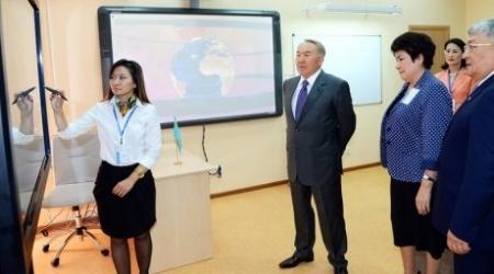 Назарбаев обозначил основные направления в системе образования