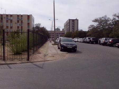 Фотопост. Как паркуются в Актау