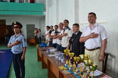 В Актау прошло открытое первенство ФСО «Динамо» по рукопашному бою