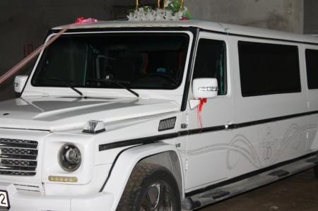 В Актау «Гелендваген» из свадебного кортежа оказался на штрафной стоянке