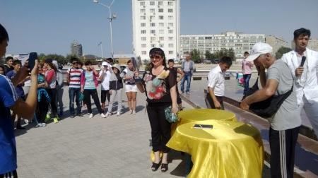 В Актау состоялся кросс, посвященный пятидесятилетию города и сорокалетию области