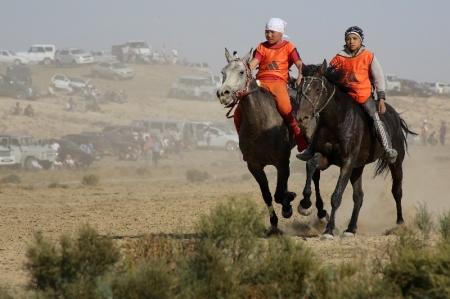 В Мангистау прошли соревнования по конным видам спорта