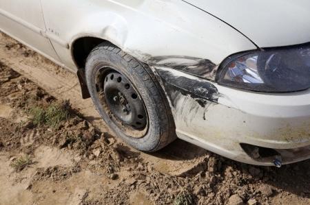 В Мангистау дорожные полицейские задержали мойщика, угнавшего автомашину и совершившего на ней ДТП
