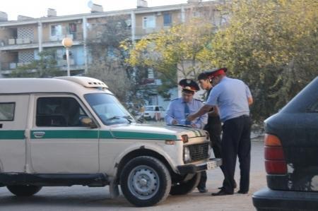 В Актау дорожные полицейские выявили ряд нарушений среди водителей инкассаторских машин