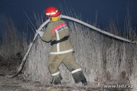 Природоохранная прокуратура провела осмотр территории заповедника Караколь после пожара