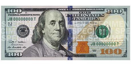 Тенге признали красивее новых 100-долларовых банкнот