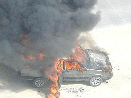 В Актау с начала 2013 года сгорело 37 машин