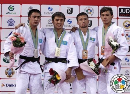 Актауский спортсмен Айбек Имашев стал серебряным призером мирового гран-при по дзюдо
