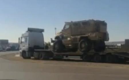 Первая партия американского вооружения из Афганистана прибыла в Актау