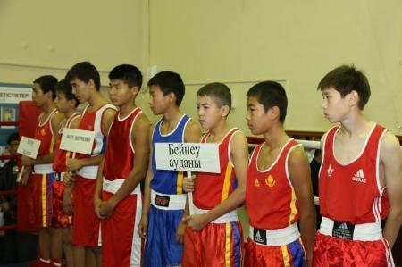 В Актау стартовал турнир по боксу, посвященный 95-летию уголовного розыска