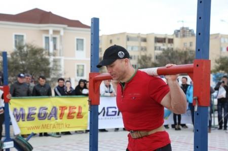 В Актау прошел второй городской турнир по силовому экстриму