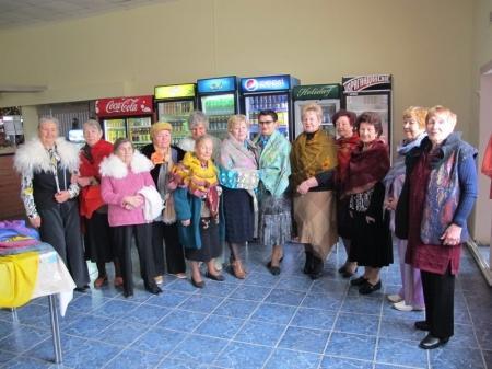 В Каспийском женском клубе отметили День пожилых людей