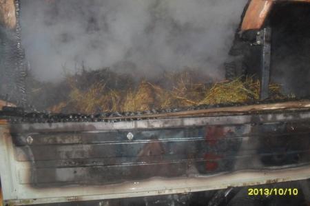 В Актау сегодня ночью сгорела автомашина «Газель»