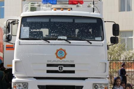 Мангистауские спасатели провели показательные выступления для жителей Актау