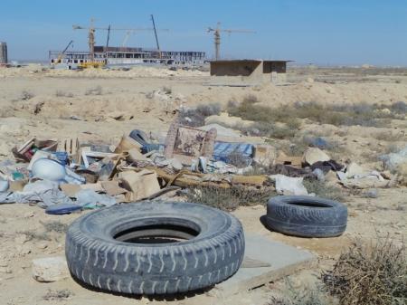Бывший проект Актау-Сити превращается в Свалку-сити