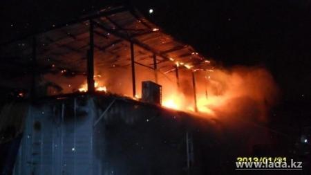 В Мангистау с начала года зарегистрировано более двухсот пожаров