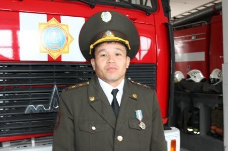 Актауские пожарные рассказывают о выбранной профессии