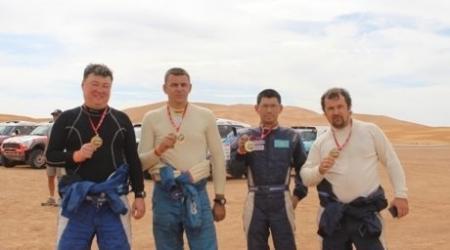 Казахстанцы успешно завершили ралли в Марокко