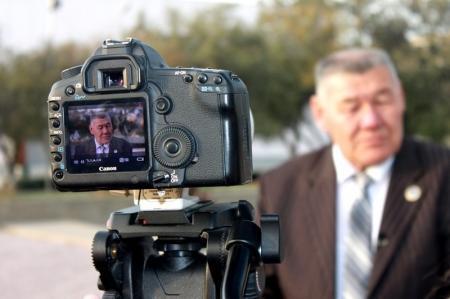 Съемочная группа украинского телеканала «1+1» снимает в Мангистау фильм о жизни Тараса Шевченко