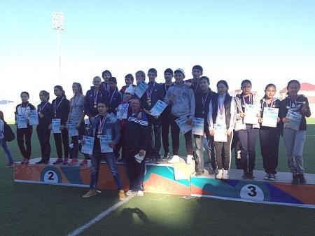 В Жанаозене прошел турнир по легкой атлетике «Аминиада-2013»