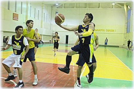 В актауской Любительской лиге по баскетболу появилась команда филиппинцев