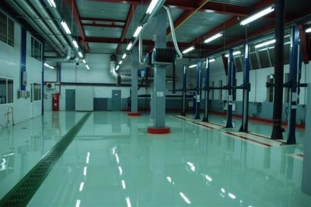 Наливные и промышленные полы - чудо под ногами