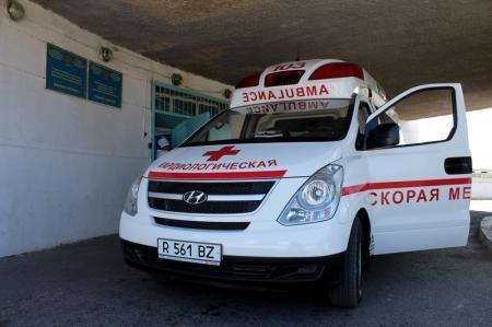 За неделю «Скорая помощь» Актау выезжала на вызовы более 1300 раз
