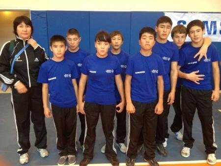 Мангистауские юноши завоевали «золото» на турнире по мини-футболу