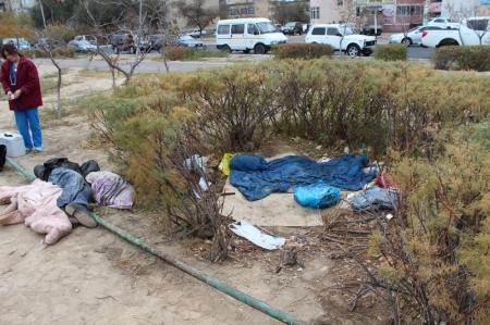 Возле ботанического сада Актау обнаружен труп мужчины