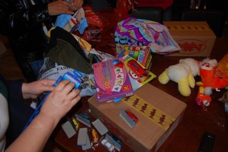 В Актау воспитанникам детского областного психоневрологического дома-интерната вручили подарки