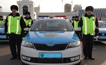 По всему Казахстану приступили к службе универсальные полицейские