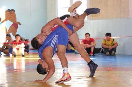 Мангистауские борцы привезли четыре медали с международного турнира в Шымкенте