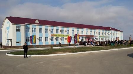 В Мунайлинском районе открыта поликлиника на 250 посещений в смену