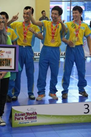 Мангистауская команда на паралимпийских играх в Малайзии поразила местных журналистов своим упорством