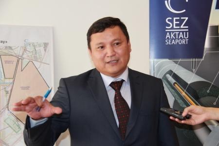 Амирбек Тулегенов: Завод планшетников должен покинуть территорию СЭЗ «Морпорт Актау» или сменить вид деятельности