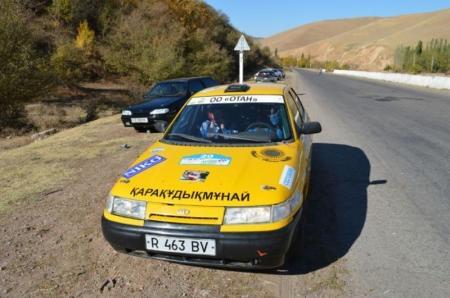 Актауские спортсмены стали бронзовыми призерами очередного этапа чемпионата Узбекистана по авторалли