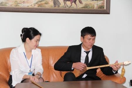 В Актау открылась выставка  Актюбинского областного историко-краеведческого музея
