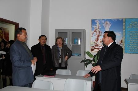 Комиссия Комитета по миграции посетила Центр адаптации и интеграции оралманов
