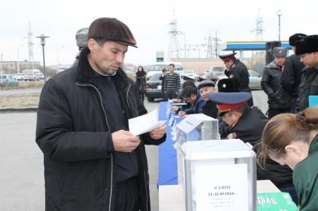 В Актау 8 ноября пройдет акция «Приемная на дороге»